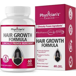 Physician's Choice Hair Growth Vitamins