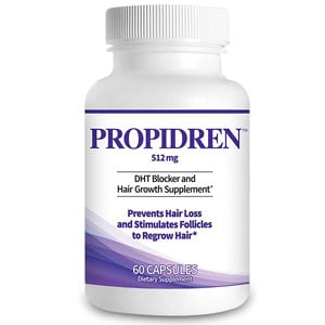 Propidren by HairGenics DHT Blocker and Hair Growth Supplement