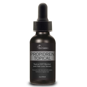 Propidren by HairGenics Hair Growth Serum with DHT Blockers