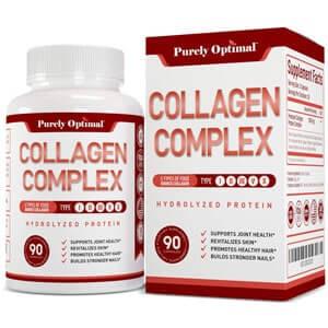 Purely Optimal Premium Multi Collagen Peptides Capsules