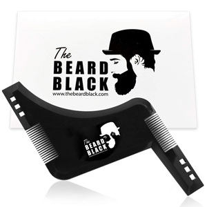 The Beard Black Beard Shaping and Styling Tool