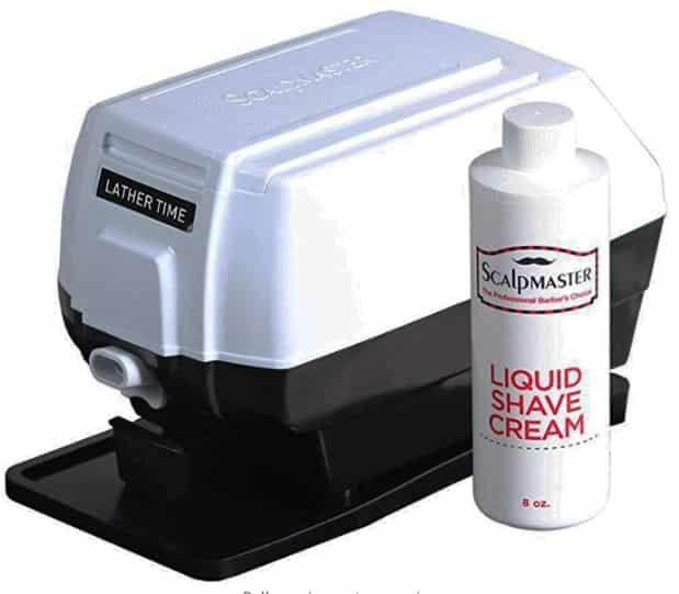 shaving cream dispenser