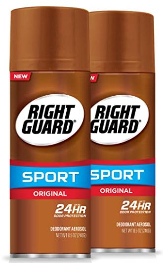 spray deodorant